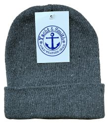 60 of Yacht & Smith Kids Winter Beanie Hat Assorted Colors