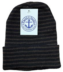 72 of Yacht & Smith Unisex Knit Winter Hat With Stripes Assorted Colors