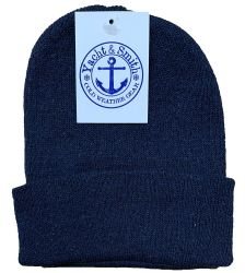 72 of Yacht & Smith Ladies Winter Toboggan Beanie Hats In Assorted Colors