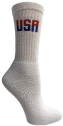 60 of Socks'nbulk 60 Pairs Wholesale Bulk Sport Cotton Unisex Crew Socks, Ankle Socks, (usa Womens White Crew)