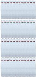 48 of Yacht & Smith Men's 32 Inch Cotton King Size Extra Long Usa Tube SockS- Size 13-16