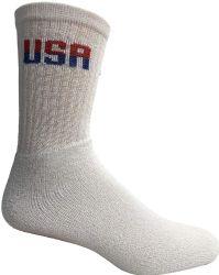 48 of Yacht & Smith Mens Wholesale Bulk Crew Cotton Socks, Athletic Sport Socks Shoe Size 8-12 (white Usa, 48)
