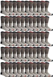 60 of Yacht & Smith Mens Cotton Thermal Tube Socks, Thick And Cold Resistant 9-15 Boot Socks
