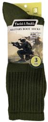 120 of Yacht & Smith Men's Army Socks, Military Grade Socks Size 10-13 (120)