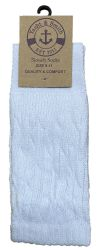 24 of Yacht & Smith Slouch Socks For Women, Solid White Size 9-11 - Womens Crew Sock