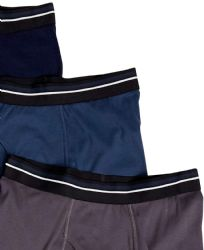48 of Yacht & Smith Mens 100% Cotton Boxer Brief Assorted Colors Size Large