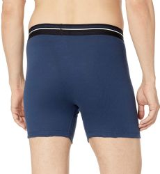 72 of Yacht & Smith Mens 100% Cotton Boxer Brief Assorted Colors Size Large