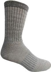 4 of Yacht & Smith Merino Wool Socks For Hiking, Trail, Hunting, Winter, By Socks'nbulk (4 Pairs Gray B, Mens 10-13)