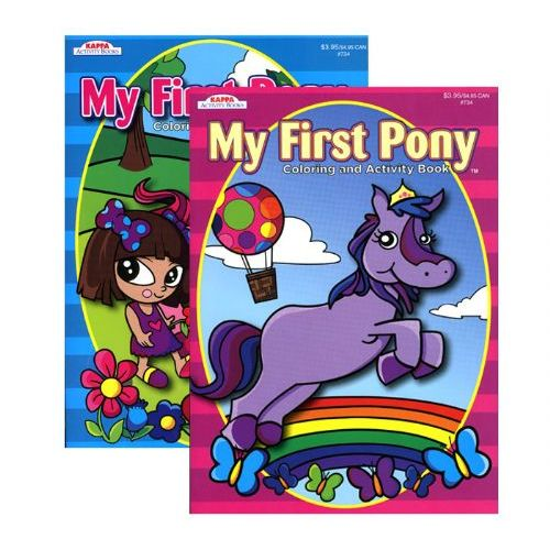 48 Of KAPPA My First Pony Coloring Activity Book