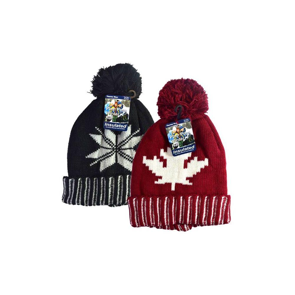 6c8d148494cd4 12 of Winter POM POM HD hat Leaf   Snow