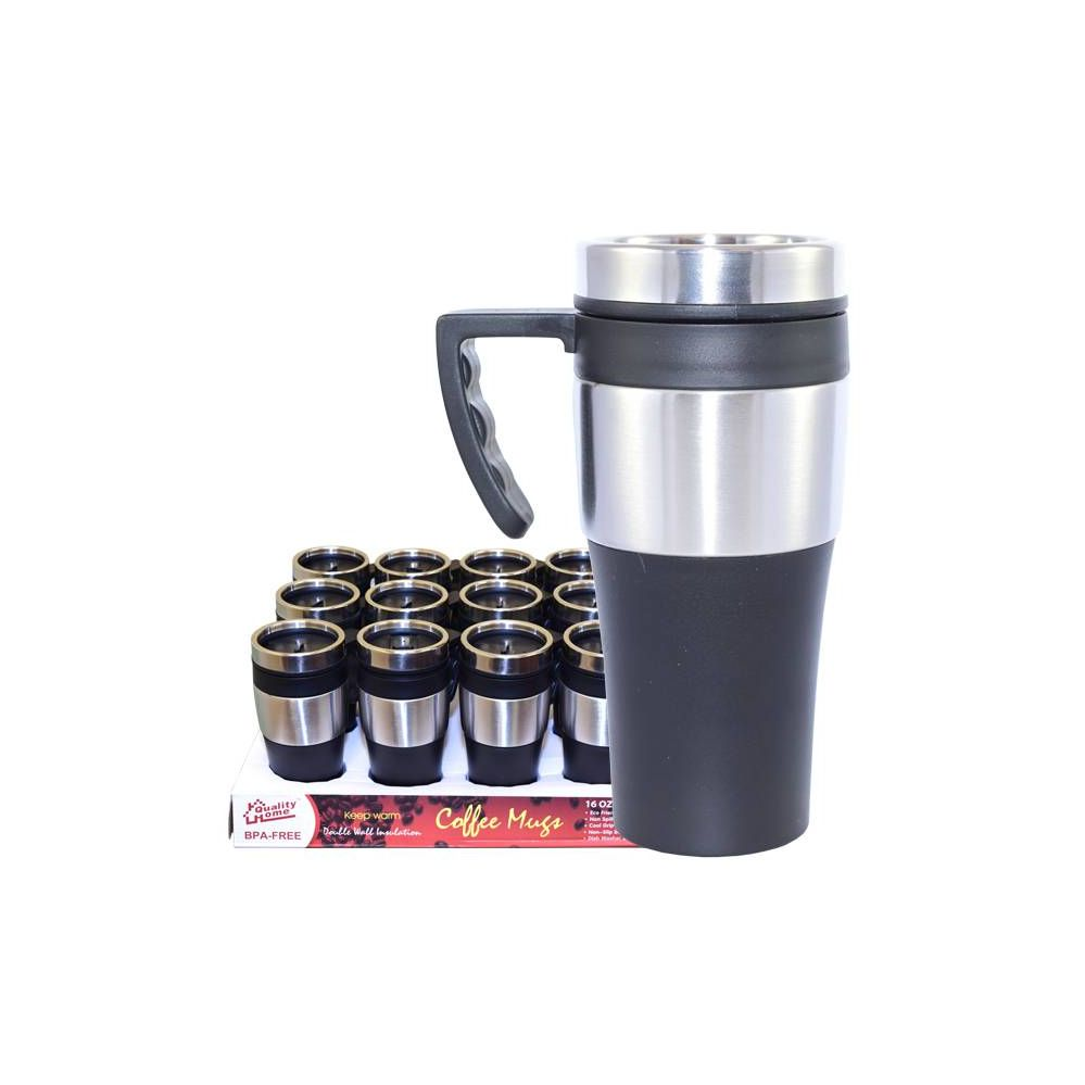 24 of coffee mug insulated with handle distributor. Black Bedroom Furniture Sets. Home Design Ideas
