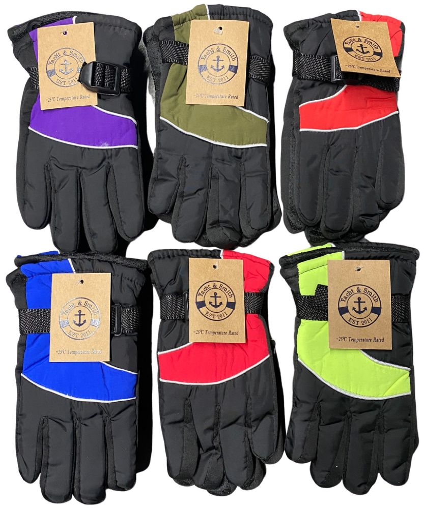 36 of Yacht & Smith Kids Thermal Sport Winter Warm Ski Gloves