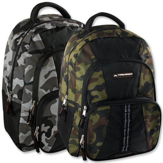 af44a57bef74 24 of Trailmaker 18 Inch Camo Daisy Chain Backpack