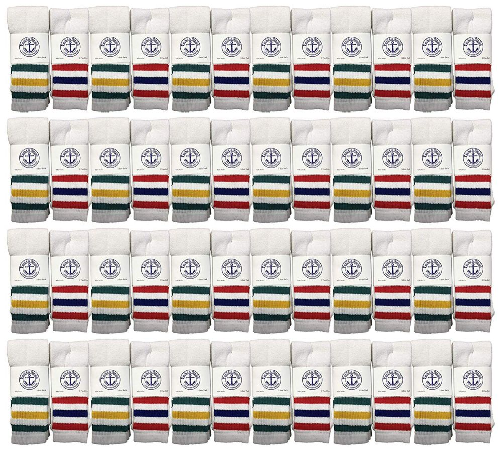 48 of Yacht & Smith Men's 31-Inch Terry Cushion Cotton Extra Long Tube SockS- King Size 13-16