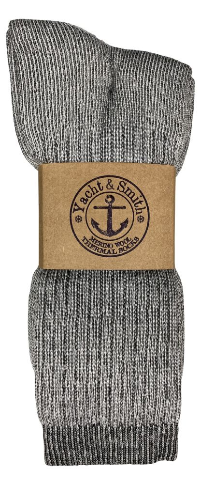 60 of Yacht & Smith Womens Terry Lined Merino Wool Thermal Boot Socks