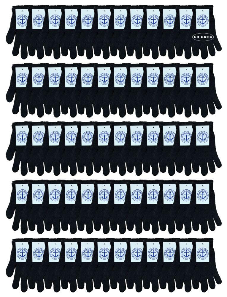 60 of Yacht & Smith Unisex Black Magic Gloves