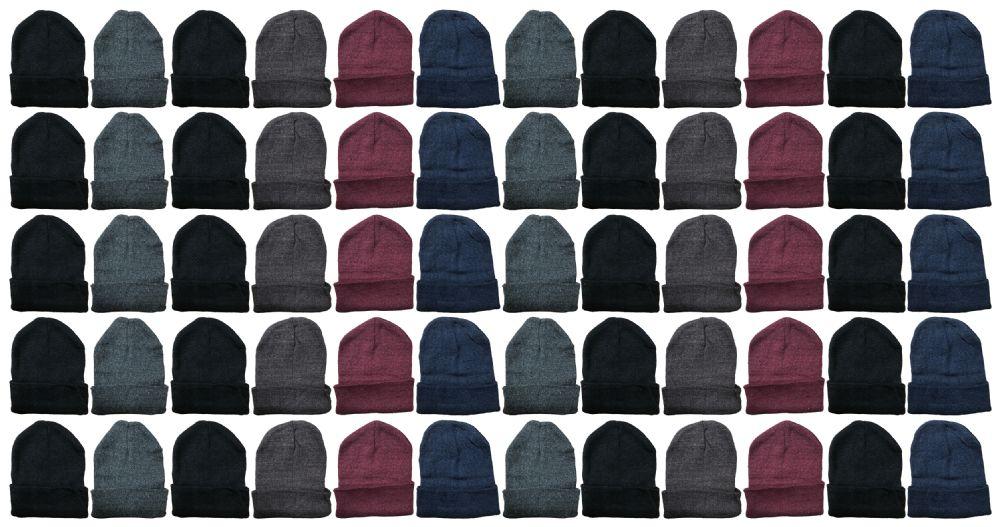 60 of Yacht & Smith Unisex Winter Warm Acrylic Knit Hat Beanie