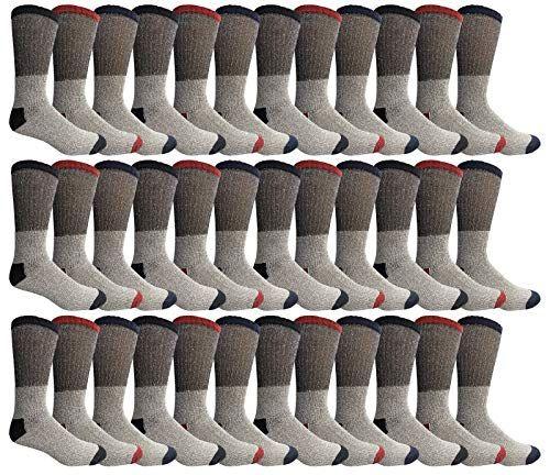 36 of Yacht & Smith Womens Cotton Thermal Crew Socks , Warm Winter Boot Socks 10-13
