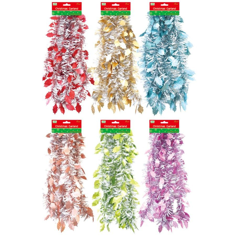 72 of Xmas Garland Assorted Color