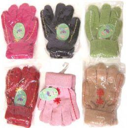 96 of Ladies Knit Gloves