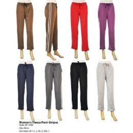 48 of Womens Fleece Pants With Stripes