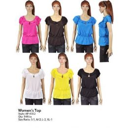 144 of Womans Ruffle Top