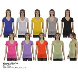 72 of Womens Slub Tee