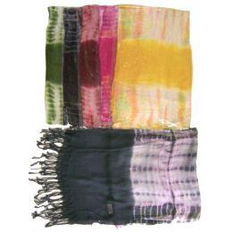 60 of Light Scarf Tie Dye