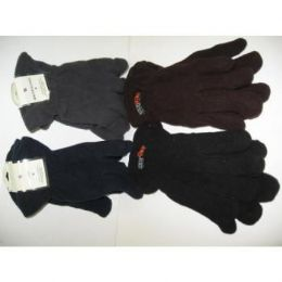 120 of Mens Flecce Winter Gloves
