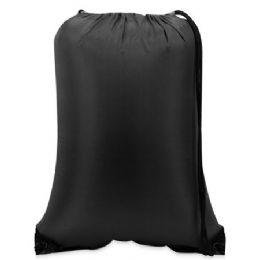 60 of Value Drawstring BackpacK-Black