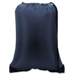 60 of Value Drawstring BackpacK-Navy