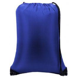 60 of Value Drawstring BackpacK-Royal