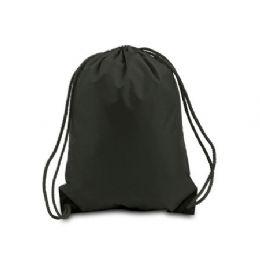 60 of Drawstring Backpack - Black