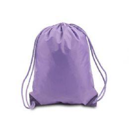 60 of Drawstring Backpack - Lavender