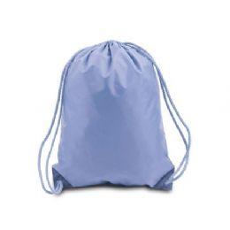 60 of Drawstring Backpack - Light Blue