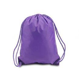 60 of Drawstring Backpack - Purple