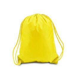60 of Drawstring Backpack - Bright Yellow