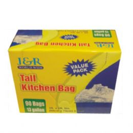 12 of Garbage Bag Tall Kitchen 13gal 90ct