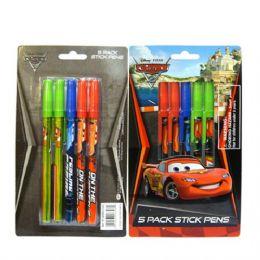 96 of Stick Pen 5pk Cars