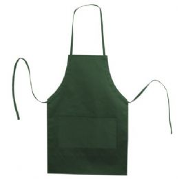 72 of Butcher Style Cotton Twill Apron Forest