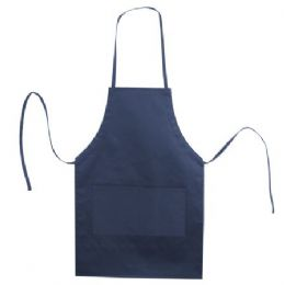 72 of Butcher Style Cotton Twill Apron Navy