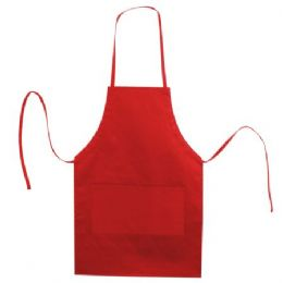 72 of Butcher Style Cotton Twill Apron Red
