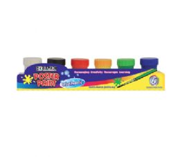 72 of Bazic 6 Color Poster Paint With Brush