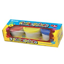 96 of Bazic Assorted Color Finger Paint (3/pack)