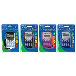 144 of Bazic 8-Digit Pocket Size Calculator W/ Neck String
