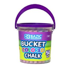 72 of Bazic Assorted Color Chalk (50/bucket)