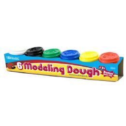 24 of Multi Color Modeling Dough With Bonus Mold Cap