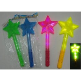 """30 of 15"""" Wand With Large Star"""