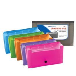 144 of Bazic 5-Pockets Coupon/personal Check Size Expanding File