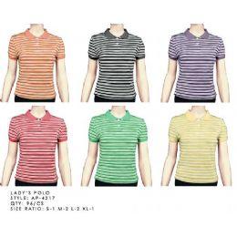 96 of Stripe Polo Shirt